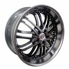 4 GWG Wheels 20 inch STAGGERED Matte Black AMAYA Rims fits 5x120 ET38 42 BMW M6