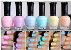 6 FULL KLEANCOLOR PASTEL COLLECTION COLORS NAIL POLISH LACQUER SET k25