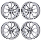 20 FORD TAURUS SHO PVD CHROME WHEELS RIMS FACTORY OEM 2018 SET 4 3927 EXCHANGE