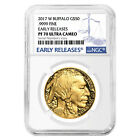 PRESALE 2017 W 1 oz 50 Proof Gold American Buffalo NGC PF 70 Early Releases