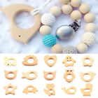 Wooden teether nature baby teething toy organic eco friendly wood
