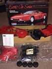 FERRARI Testarossa Monogram Exotic Car Series ~NEW Complete Model Kit 1:12 Scale
