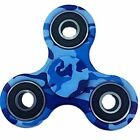 Blue Brown Red Fire Kitty Flag Hand Spinner Fidget Camo Camouflage Finger Toy