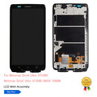 Blue For Samsung Galaxy S4 I9500 LCD Touch Screen Digitizer Replacement Frame US