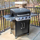 GAS GRILL With 4 BURNER Bbq ALL BLACK CHAR BROIL Top Quality Barbecue Tax Free