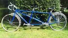 Univega tandem bicycle Blue A reliable nice ride