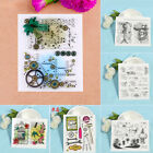 Transparent Silicone Rubber Clear Stamps Scrapbooking Embossing DIY Cards Decor