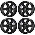 18 LEXUS GX460 BLACK WHEELS RIMS FACTORY OEM 2015 2016 2017 2018 SET 4 74229