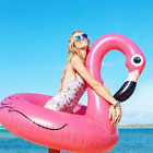 Giant Inflatable Flamingo Pool Float Circle Inflatable Summer Toy Pool Party big