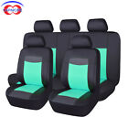 Deluxe Pu Leather Seat Covers Set Universal Protector Rear Bench Split 40 60 50