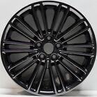 New SET 4 18 Replacement Wheels fit Ford Fusion 13 15 Dark PVD Chrome 3960