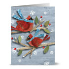 24 Holiday Note Cards Goodwill Cardinals Red Envs