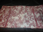 Waverly GARDEN TOILE (1) Claire Valance Dark Cherry