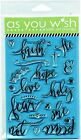 Illustrated Bible Journaling Faith Hope Love Peace Fear Not Faith Art Stamps