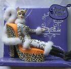 Barbie Lounge Kitties Collection Animal Black & White Print High Heel #M