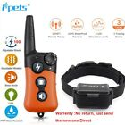 Ipets 1000ft Remote Dog Shock Collar Rechargeable Waterproof Dog Training Collar