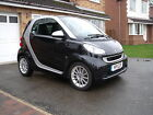 2011 SMART FORTWO PASSION MHD AUTO BLACK FSH MOT