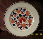 REDUCED FITZ AND FLOYD MANDARIN GARDEN DINNER  PLATE WHITE, BLUE AND RUST