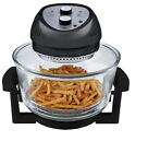 New Black 1300 Watt High Speed Low Energy Tech Oil Less Electric Kitchen  Fryer
