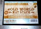 The Old World Mat Stack Printed Textured Cardstock 45 x 65 72 pieces