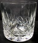 WATERFORD crystal LISMORE pattern OLD FASHONED GLASS or Tumbler 3 3 8