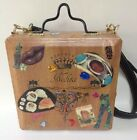 RARE HTF Nolita Cigar Box Purse Vintage Promotional Item Nolita Hair Products