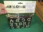 NEW Alphabet Foam Stamps FREEHAND Upper  Lowercase 1 1 4 Letters