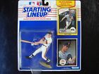 1990 STARTING LINEUP BASEBALL WILL CLARK 2 COLLECTOR CARDS NEW UNOPENED