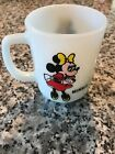 Vintage Anchor Hocking Fire King Minnie Mouse Disney Pepsi Collector USA Mug Cup