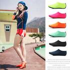 Men Women Skin Water Aqua Shoes Socks Yoga Exercise Pool Beach Swim Slip On Surf
