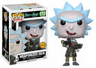 Limited Chase Edition Funko Pop! Animation 172 Rick and Morty - Weaponized Rick
