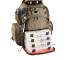 wild river tackle tek lighted nomad new 4 trays recon fishing packpack w gear