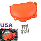 Clutch Cover Engine Protector Guard for KTM 250 EXC-F 350 XCF-W SIX DAYS 14-16