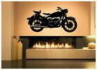 Wall Decor Art Vinyl Sticker Mural Decal Vintage Retro Motorcycle Bike SA586