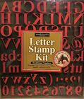 Letters  Numbers Stamp Kit With Punctuation Marks Great Condition