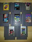 Nes Games Lot Contra Punch Out Castlevania TMNT Super Mario 3