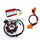 Magneto Stator Ignition Coil CDI GY6 125 150cc Chinese ATV Go Kart Moped Scooter