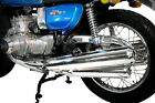 DELKEVIC FULL CHROME EXHAUST SYSTEM GT750 75 76 77  RESTORE YOUR GT TODAY !