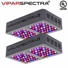 VIPARSPECTRA Reflector Series 2pcs 300W LED Grow Light Indoor Plants VEG Flower