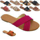 New Women Gladiator Sandals Casual slip on Flip Flops Flat Size Slipper Shoes