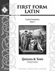 LOWE CHERYL First Form Latin Tests  Quizzes PAPERBACK  Brand New