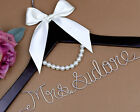 Personalized wedding Hanger Wire Name bride Hanger Wedding dress hanger