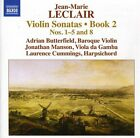 Violin Sonatas Book 2-Nos. 1-5 (CD Used Very Good) Adrian Butterfield*Jonathan M