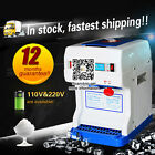 New Automatic Electric Snow Machine Maker Crusher, Ice Shaving Commercial Shaver