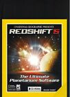 NATIONAL GEOGRAPHIC REDSHIFT5 THE ULTIMATE PLANETARIUM SOFTWARE