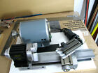 Taig Micro Lathe II with 3 jawed chuck, 5 tool bits,.collet set, with 8 collets