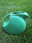 Beautiful Vintage Fiesta Disk Water Pitcher Green