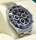 Rolex Daytona 116500LN Chrono Oyster Black Ceramic Bezel Watch BOX/PAPER *NEW*
