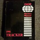 1991 Chevy GEO TRACKER Service Repair Manual Set W Electrical Diagnosis Spplmnt