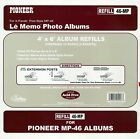Pioneer Memo Pocket Album Refill 4-Inch by 6-Inch for mp-46 albums